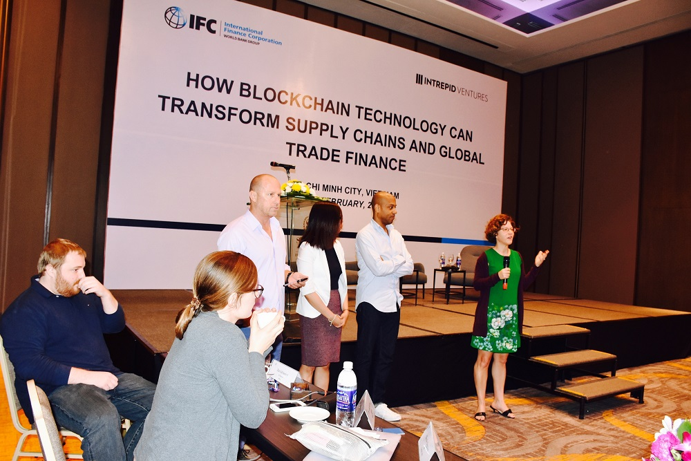 World Bank's IFC presents: How blockchain technology can transform supply chain and global trade finances