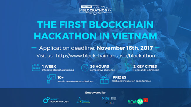 Introducing: BLOCKATHON - Vietnam's First Blockchain Hackathon