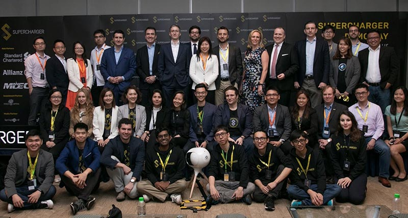 uperCharger Team and Malaysian Startup Participants