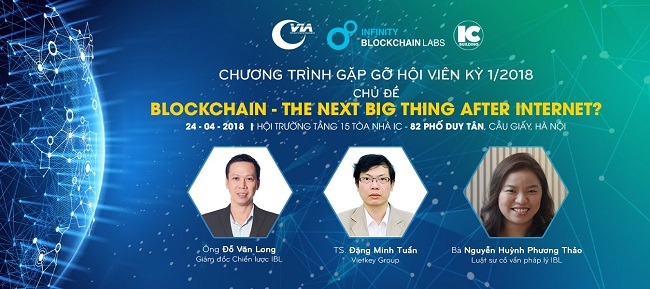 IBL and Vietnam Internet Association (VIA) to Organize a Workshop on Blockchain Technology