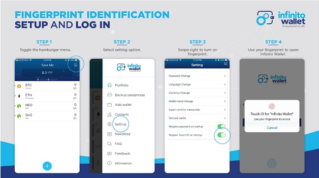 Protect Your Cryptocurrency Assets with Infinito Wallet