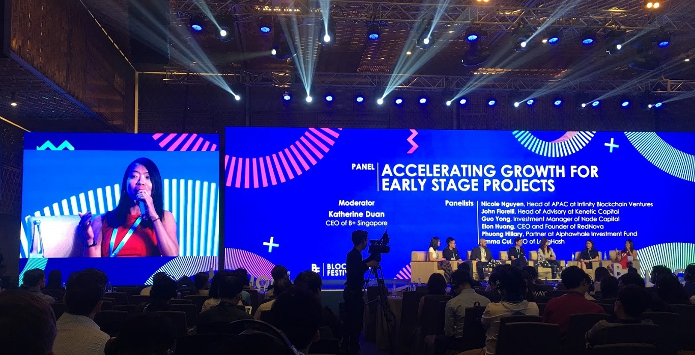 IBL Discusses Early Stage Blockchain Projects and the Expansion of Blockchain in Vietnam Blockchain Festival