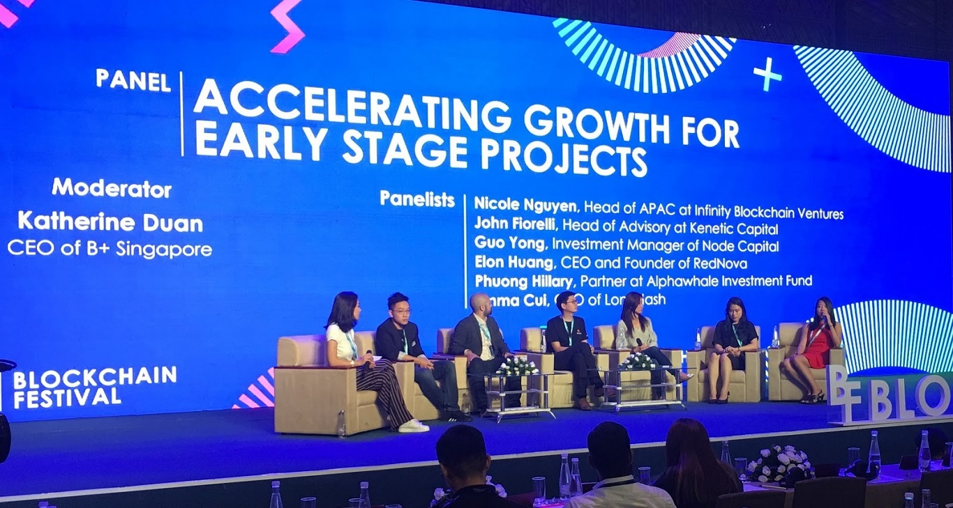Infinity Blockchain Ventures Discusses Blockchain Expansion and Early Stage Projects at Blockchain Festival!