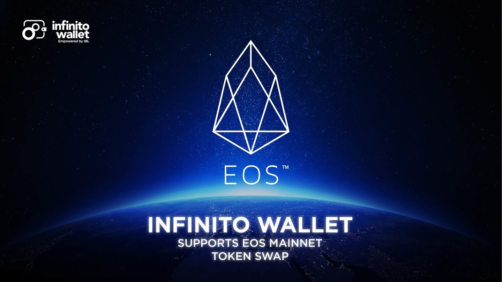 Infinito Wallet Expands to Support EOS MainNet!