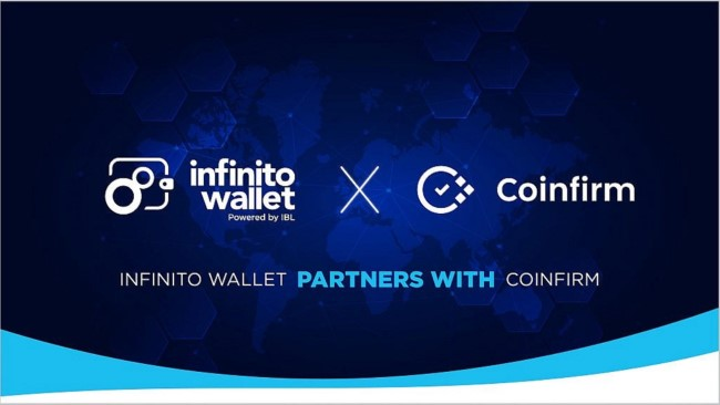 Infinito Wallet Partners with Compliance Platform Coinfirm and AMLT Network