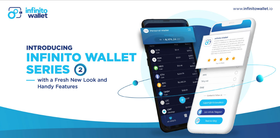 Infinito Wallet Version 2.2 Update Has Finally Arrived!