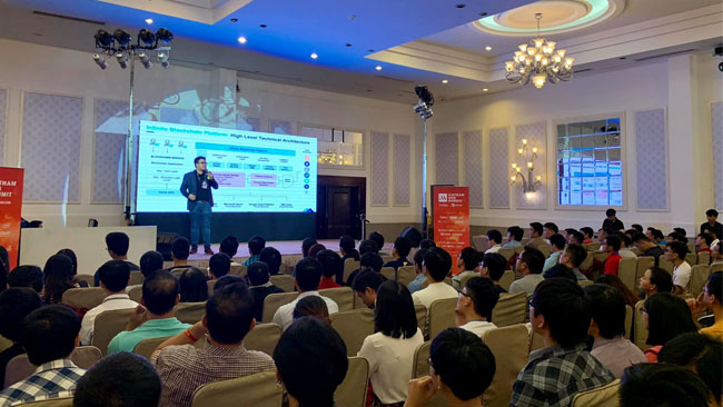 IBL Discusses Blockchain Advanced Development at Vietnam Web Summit 2018