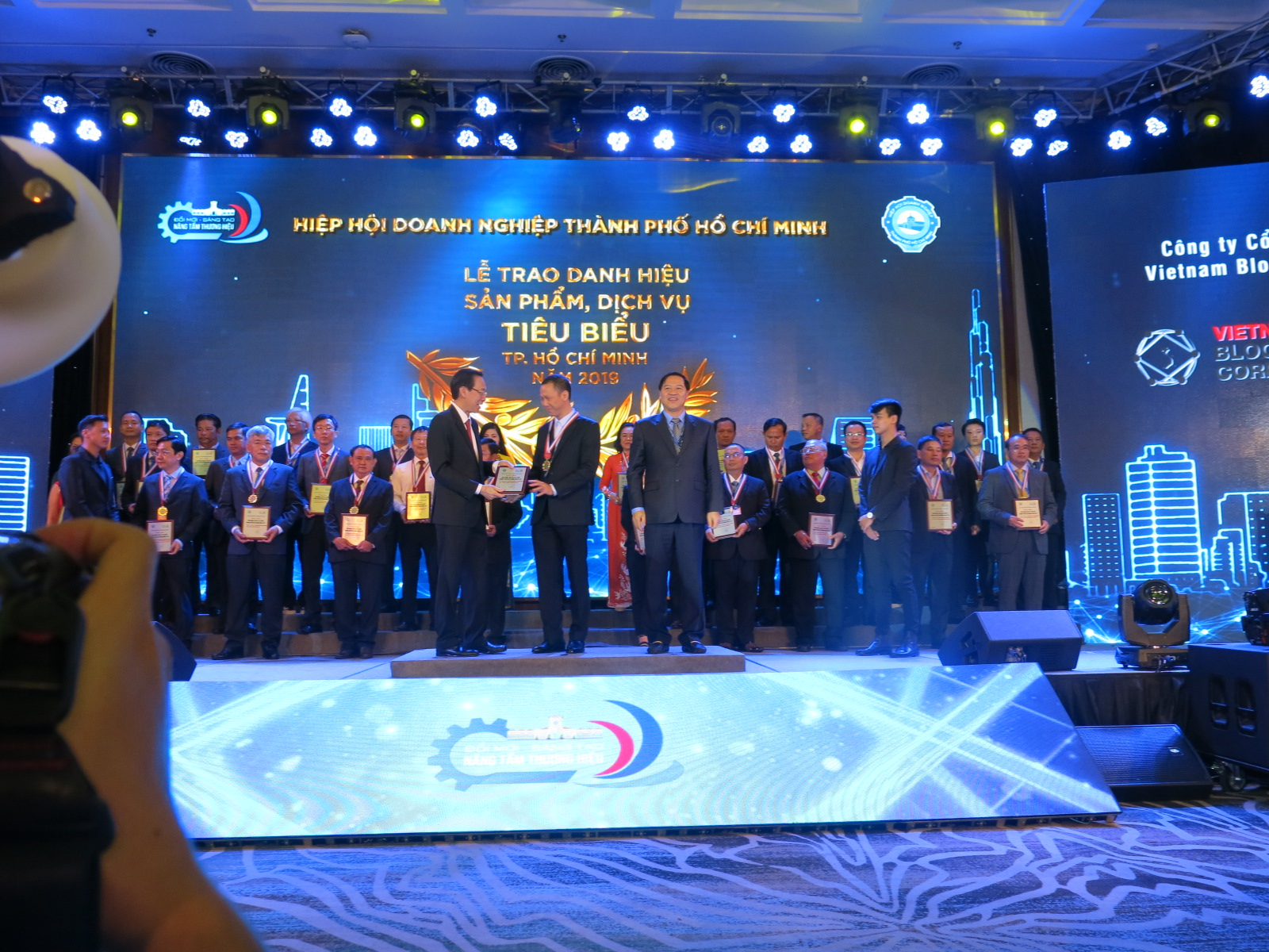 "VBC won the title ""Typical products and services of Ho Chi Minh City"" in 2019"