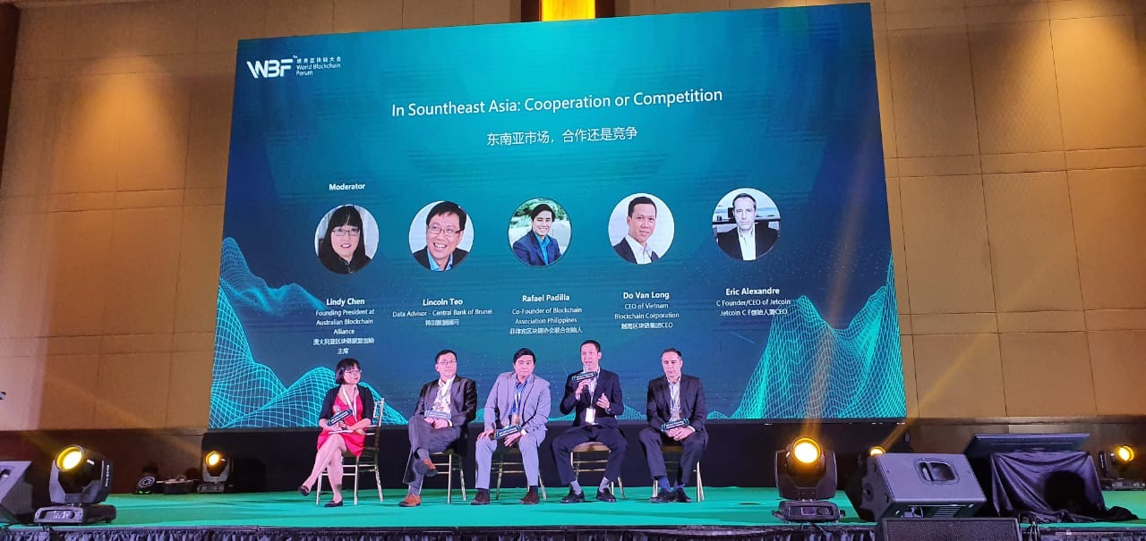 VBC shared the trend of inter-regional value chain ecosystems at World Blockchain Forum Indonesia